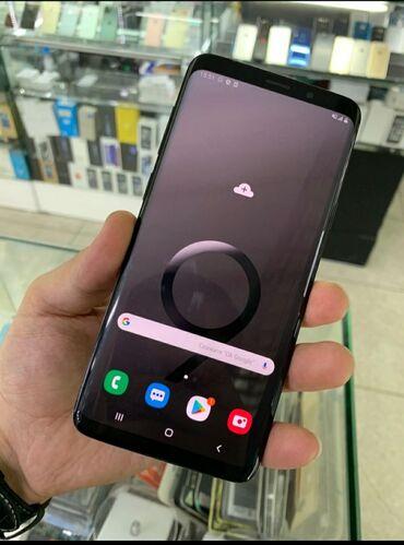 samsung galaxy c7 в Кыргызстан: Б/у Samsung Galaxy S9 Plus 128 ГБ Черный