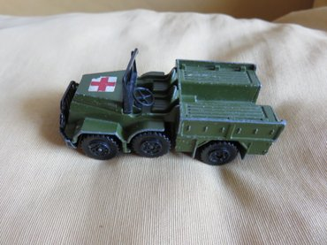 Machbox vintage battle kings k-112 Daf Ambulance 1976 Lesney Αγγλιας σε Χαλάνδρι
