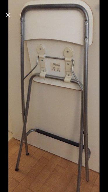 2 λευκά stools για κουζίνα ή μπαρ αμεταχειριστα από ikea 20€ το ένα σε Υπόλοιπο Αττικής - εικόνες 2