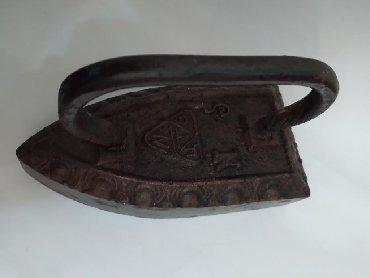 утюг отпариватель в Азербайджан: Kohne qedim entiq utu антиквариат утюг чугунный.Продается старинный