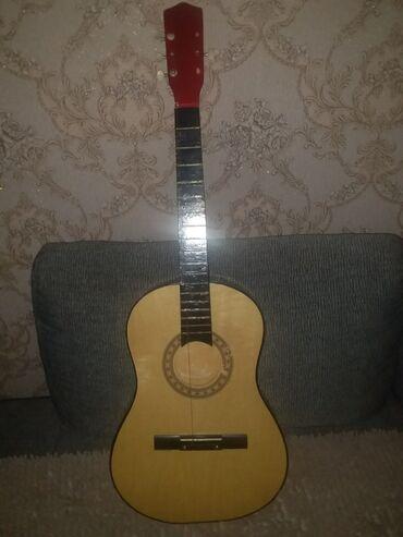 Musiqi alətləri - Mingəçevir: Salam gitar satiram bir prablemi varki simleri yoxdu ona gorede