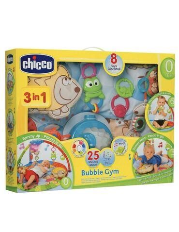 qoşma - Azərbaycan: Chicco Bubble Gym oyun merkezi. Oyuncaqlari hamisi cixir, ayri