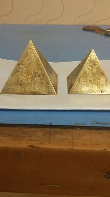 Искусство и коллекционирование - Азербайджан: Misir piramidalari cutu 15 manat