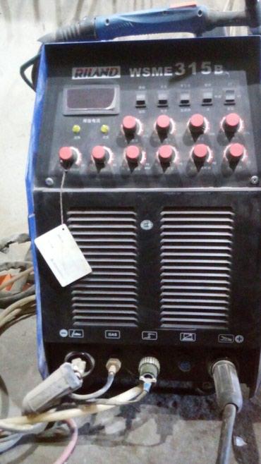 Bakı şəhərində Arqon svarka aparatı. Saz veziyyetdedir. Bütün materialları