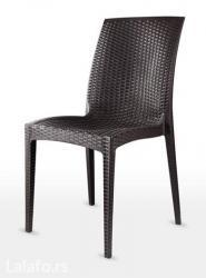 Stolice odradjene od pvc plastike veoma kvalitetne i funkcjonalne, - Beograd