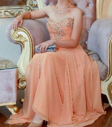 льняные вязаные платья в Кыргызстан: Продаю вечернее брендовое платье в пол от Terani Couture, в отличном