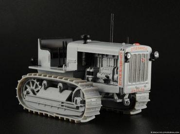 """промо модель в Кыргызстан: МАСШТАБНАЯ МОДЕЛЬ трактора """"СТАЛИНЕЦ"""" АШЕТ масштаб 1:43"""