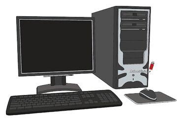 hp 1010 в Кыргызстан: Игровой компьютер. HP, Core i5, 4 ядерный. RX550 2 gb. 128bit, hdd sat