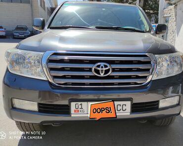 автомобильные шины для внедорожников в Кыргызстан: Toyota Land Cruiser 4.5 л. 2008 | 200000 км