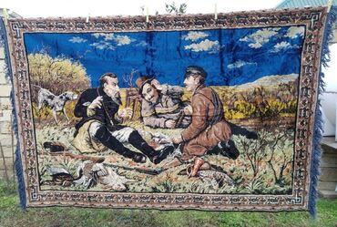 adlı - Azərbaycan: ANTİK XALÇA 1930-40 ci il 3 OVCULAR ANTİK XALCASİUZUNLUQ 2 METRENİ