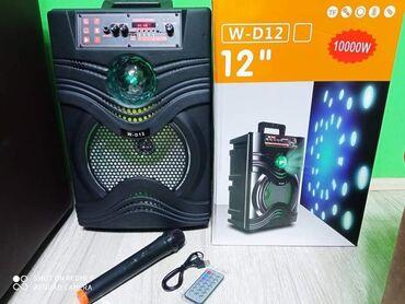 Elektronika - Pozarevac: Najveci Blutut Zvucnik Karaoke W-T12 sa Bežicnim mikrofonom i