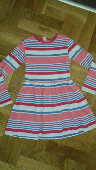 Pamucna haljinica,nekoliko puta obucena,velicina 116 - Smederevo