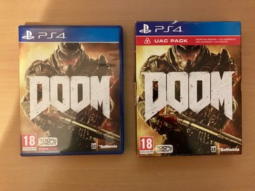 Na prodaju DOOM PS4 video igra!   *CD je bukvalno kao nov, igra dobije - Loznica