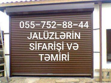 jaluz qapilar - Azərbaycan: Qaraj qapilari ve temir jaluz qapilar avtomatik qaraj qapilari