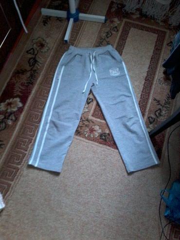 Спортивные серые брюки, на девочку, в Бишкек
