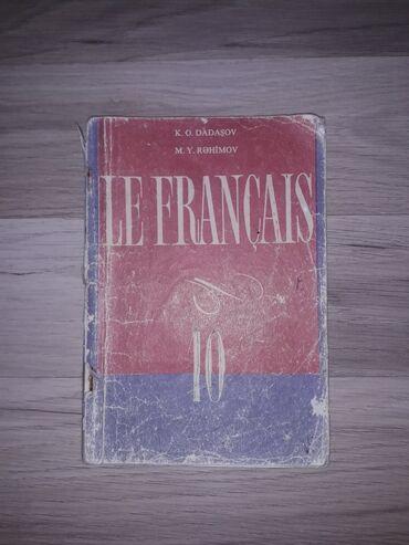fransiz dili - Azərbaycan: Fransız dili kitab