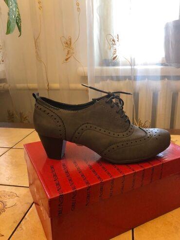botinki 39 razmer в Кыргызстан: Женские туфли, новые, размер 39, производство ГЕрмания. Высота