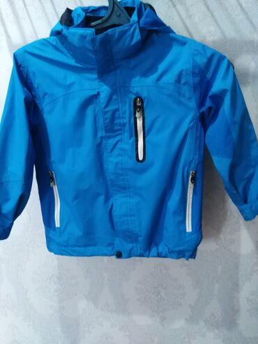 Детский мир - Тынчтык: Ветровка для мальчика, капюшон на молнии, привезли из Германии, на 6-8