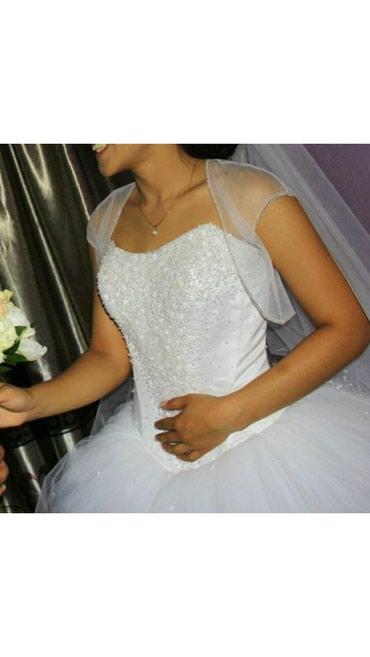 Здравствуйте! Продаю свое счастливое свадебное платье. Польское, цвет
