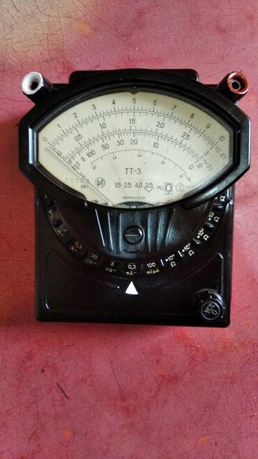 Продаются тестеры мультиметры советского образа тт-3 и омметр