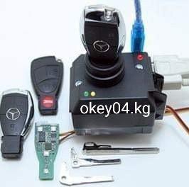 Ключи рыбка на мерседес. прописка ремонт. от 4000 до 7000 okey04.kg в Джалал-Абад