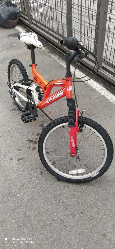 Bicikli uradjen servis 6 brzina 2 amoltizera Za decu od 5 do 12