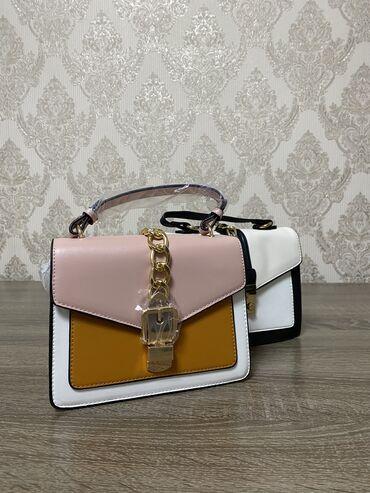 розовые колготки в Кыргызстан: Женские сумочки в бело-розовом цвет . В наличии 2 пары