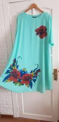 вечернее нарядное платье в Кыргызстан: Продаю женские платья, большие размеры 52-54нарядные,отличного