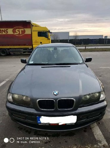 Bmw 5 серия 520d steptronic - Srbija: BMW 3 series 2001