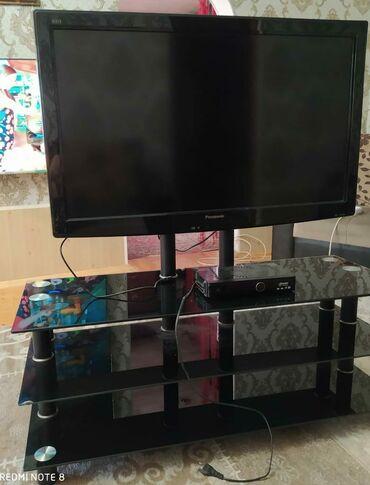 Panasonic tv satilir tv altiyla bir yerde ikisise ela veziyyetde