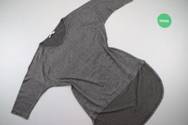 Жіночий пуловер з подовженою спинкою Bluzka, p. S/M    Довжина: 89 см