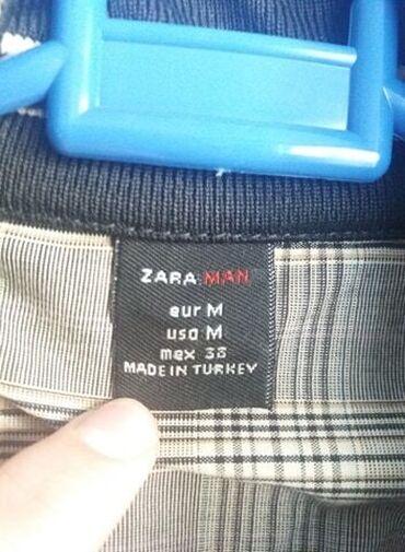 Zara Muška jaknaJakna kupljena u Zari po ceni od 6000 dinara, malo
