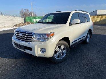 автомобиль тойота сиенна в Кыргызстан: Toyota Land Cruiser 2012