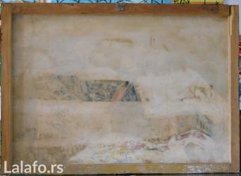 Ulje na platnu radjene 92-93 g. autor, blind ram 76x54, sliku kupujete