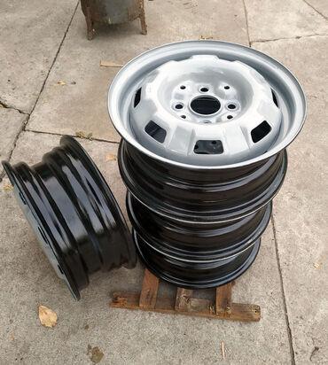 r13 диски в Кыргызстан: Диски железные ВАЗ R13. 4 шт. 5Jx13H2 ET45 . находятся в