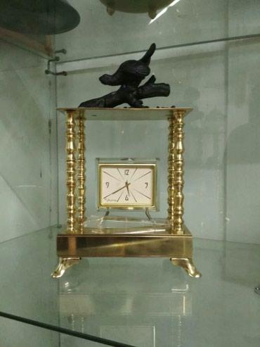 """Часы, бронза, статуэтка """"птица глухарь"""" в Бишкек"""