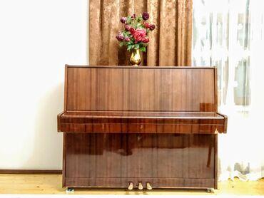 Piano Belarus 3 pedalli. Mexanizmasi chox ideal veziyyetdedir. Butun