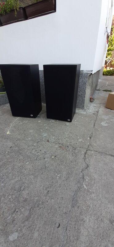 Pojacalo - Srbija: Zvucnici su u odlicnom stanju 2x120w rade perfekno odlican zvuk i cist