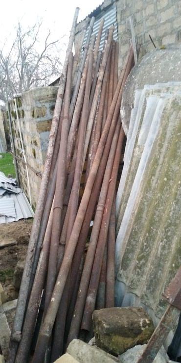 Bakı şəhərində Denizde ishlenen rusun turbasi. keyfiyyetlidi. uzunlugu 4-6 m. 300 m