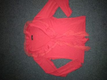 Блузка, размер 42-44 , ткань х/б трикотаж в Лебединовка