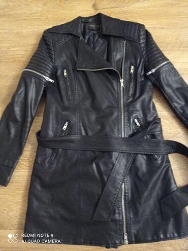 Куртки - Кыргызстан: Куртка эко кожа,пекин, одевала пару раз, состояние новое, размер м