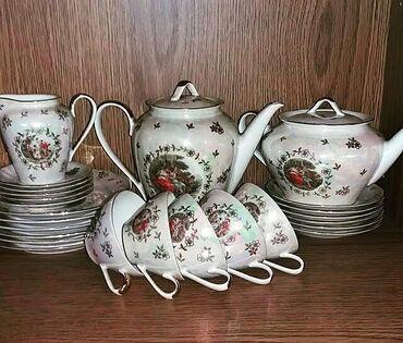 servizi - Azərbaycan: Modonna çay servizi.çaşka 5 ədəddi.2çayniki,6