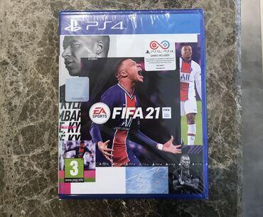 FIFA 21 PS4 YENI (НОВЫЙ)!!!Dubaydan hədiyye yollayiblar, mən ise FIFA