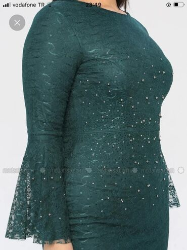 вечерне коктейльное платье в Кыргызстан: Платье вечернее шикарное турецкое 52 размер. Идеальный выбор для