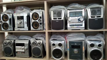 муз-центр-филипс в Кыргызстан: Продаю муз центры