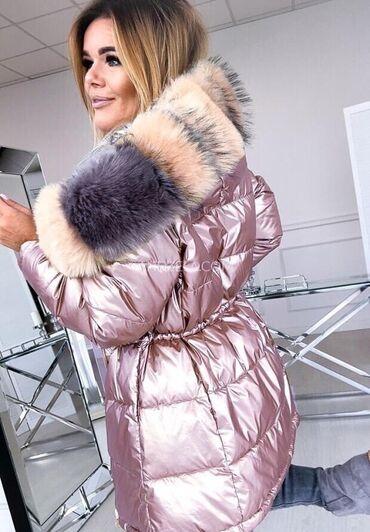 Prelepe zimske nepromočive jakne sa krznom extra cena