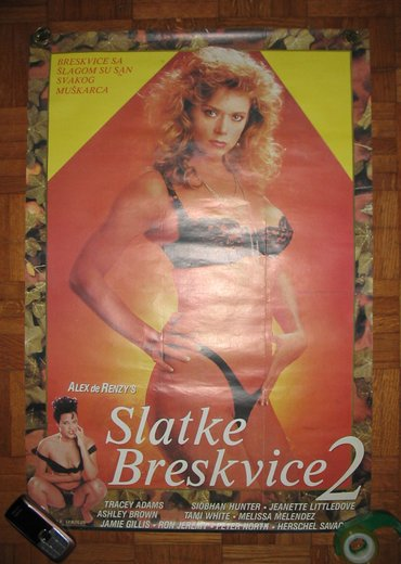 Alfa-romeo-spider-2-at - Srbija: Plakat Slatke breskvice 2 (Pretty Peaches 2) Erotski film (erotika) Sl