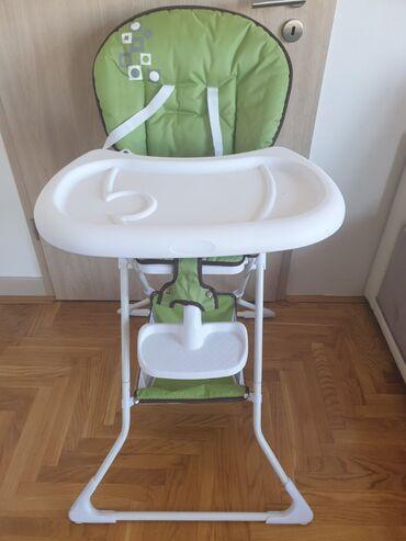 Stolica za hranjenje - hranilica za bebeNova, nekoriscena