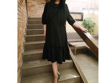 черное платье на свадьбу в Кыргызстан: Платье Вечернее Brioni XL