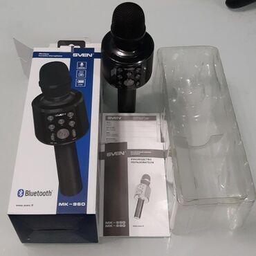 sven 51 в Кыргызстан: Микрофон SVEN MK-960  Микрофон SVEN MK-960 станет незаменимым устройст
